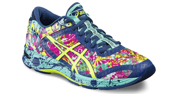 asics Gel-Noosa Tri 11 Shoe Women Poseidon/Safety Yellow/Cockatoo